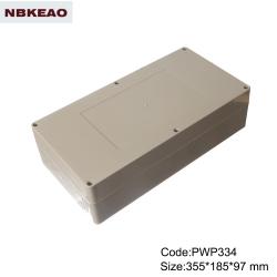 surface mount junction box ip65 plastic waterproof enclosure custom enclosure PWP334 with 355X185X97