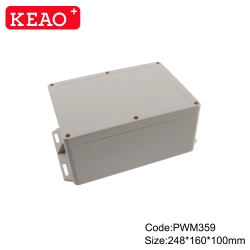unique waterproof enclosure outdoor enclosure waterproof Wall-mounting Cabinet PWM359 248*160*100mm