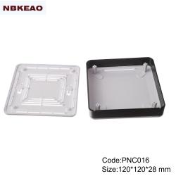 mini router enclosure Custom Network Enclosures router plastic enclosure PNC016 wtih  120*120*28mm