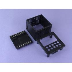 ABS Plastic Electronic Enclosures digital panel meter enclosure IP54 PDP006 wtih size 96*96*70mm