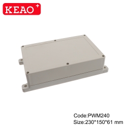 electronic plastic enclosures surface mount junction box Wall Mount Box PWM240 with size230*150*61mm