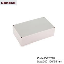 outdoor waterproof enclosure electronic enclosure waterproof plastic enclosure PWP210  200*120*55mm