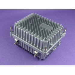 waterproof enclosure box for electronic aluminum waterproof enclosure AWP380 with size 202*168*113mm
