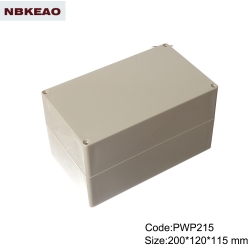 abs box plastic enclosure electronics waterproof junction box  ip65 enclosure PWP215 200*120*115mm