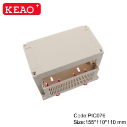 IP54 Good quality din rail box plc electrical connector electronic instrument enclosure PIC076