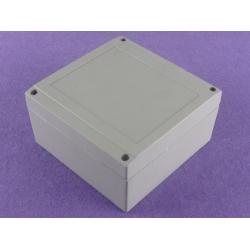 custom aluminum electronics enclosure aluminum enclosure ip67 AWP042 with size 140X140X75mm