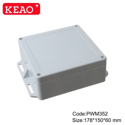 junction box with terminals ip65 plastic waterproof enclosure outdoor electric enclosure PWM352