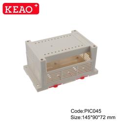 Din Rail Module Enclosure Manufacture din rail housing ABS Plastic case ElectronicPIC045 145*90*72mm