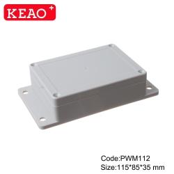 box enclosure plastic withe ear abs box plastic enclosure electronics Wall Mount Box PWM112 wire box