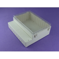 China NEMA rated waterproof & dustproof ABS Electonic Enclosure PWP425 Size : 295*255*111mm