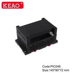 Modular box PLC Shenzhen mould plastic enclosures with connector PIC046 with size 145*90*72mm