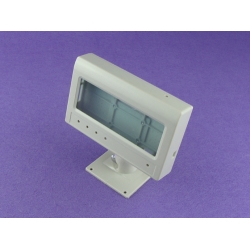 plastic enclosure instrument desktop enclosure with LCD display abs box PDT475 with size 151*94*34mm