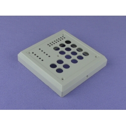 high quality electronic ABS plastic reader enclosure Access Controller Enclosure PDC035 117X117X21mm