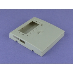 China Manufacturer door Control Reader Enclosure Instrument enclosure  PDC040 with size 120X120X23mm
