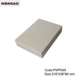 outdoor telecommunication enclosure plastic enclosure waterproof  PWP049 with size 318*238*66mm