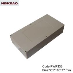 China Plastic Waterproof Enclosure outdoor enclosure waterproof custom enclosures PWP333  355*185*77