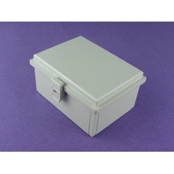 China cheap Plastic Box with Plastic Latch and Hinge Type