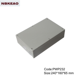 abs box plastic enclosure electronics ip65 waterproof enclosure plastic PWP232 with size240*160*65mm