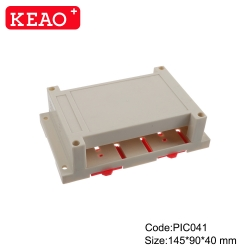 IP 54 water proof V0 materials new design Relay housing PLC din rail junction box PIC041 145*90*40mm