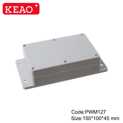 electronic plastic enclosures waterproof junction box surface mount junction box PWM127 150*100*45mm