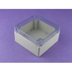 plastic electronic enclosure waterproof junction box outdoor abs enclosure PWP128T with 160*160*90mm