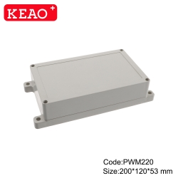 waterproof junction box wall mounting enclosure box ip65 enclosure box PWM220 with size 200*120*53mm
