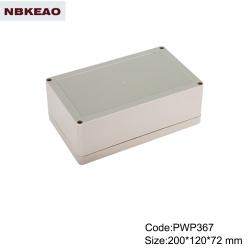 waterproof electronics enclosure ip65 plastic enclosure outdoor enclosure waterproof PWP367 wire box