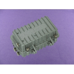 aluminium enclosure junction box IP67 heavy duty aluminium top box AOA285 with size 169X86X85mm