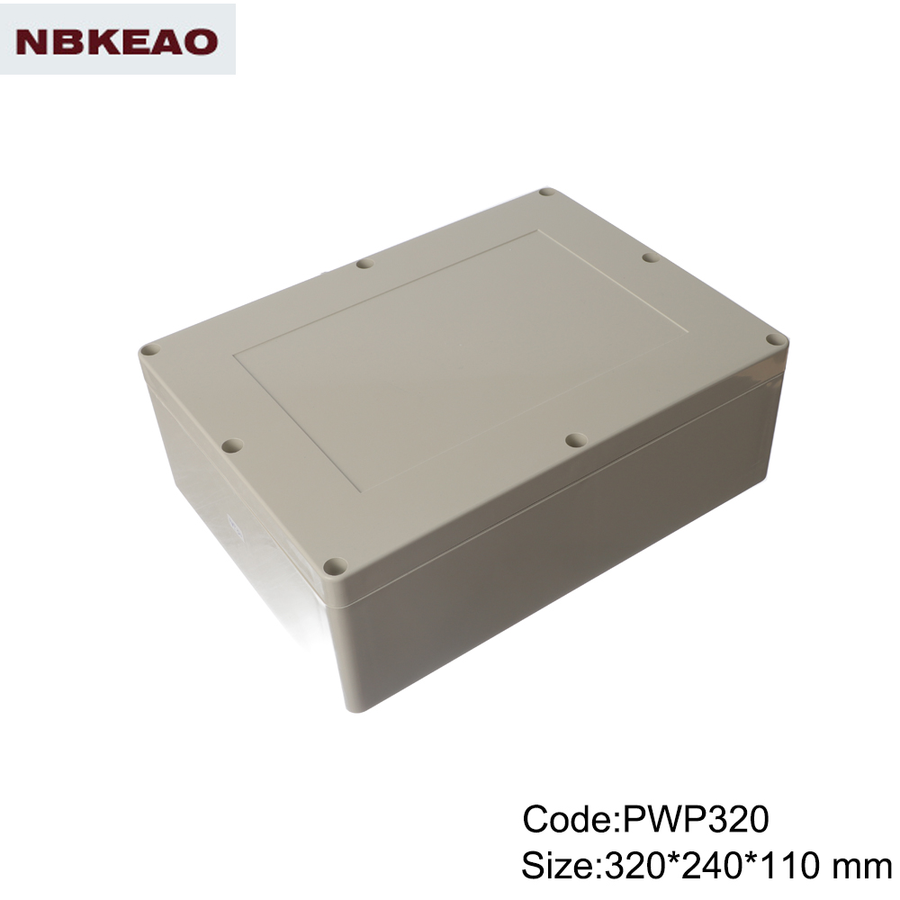 outdoor waterproof enclosure waterproof enclosure box for electronic PWP320 with size 320*240*110mm