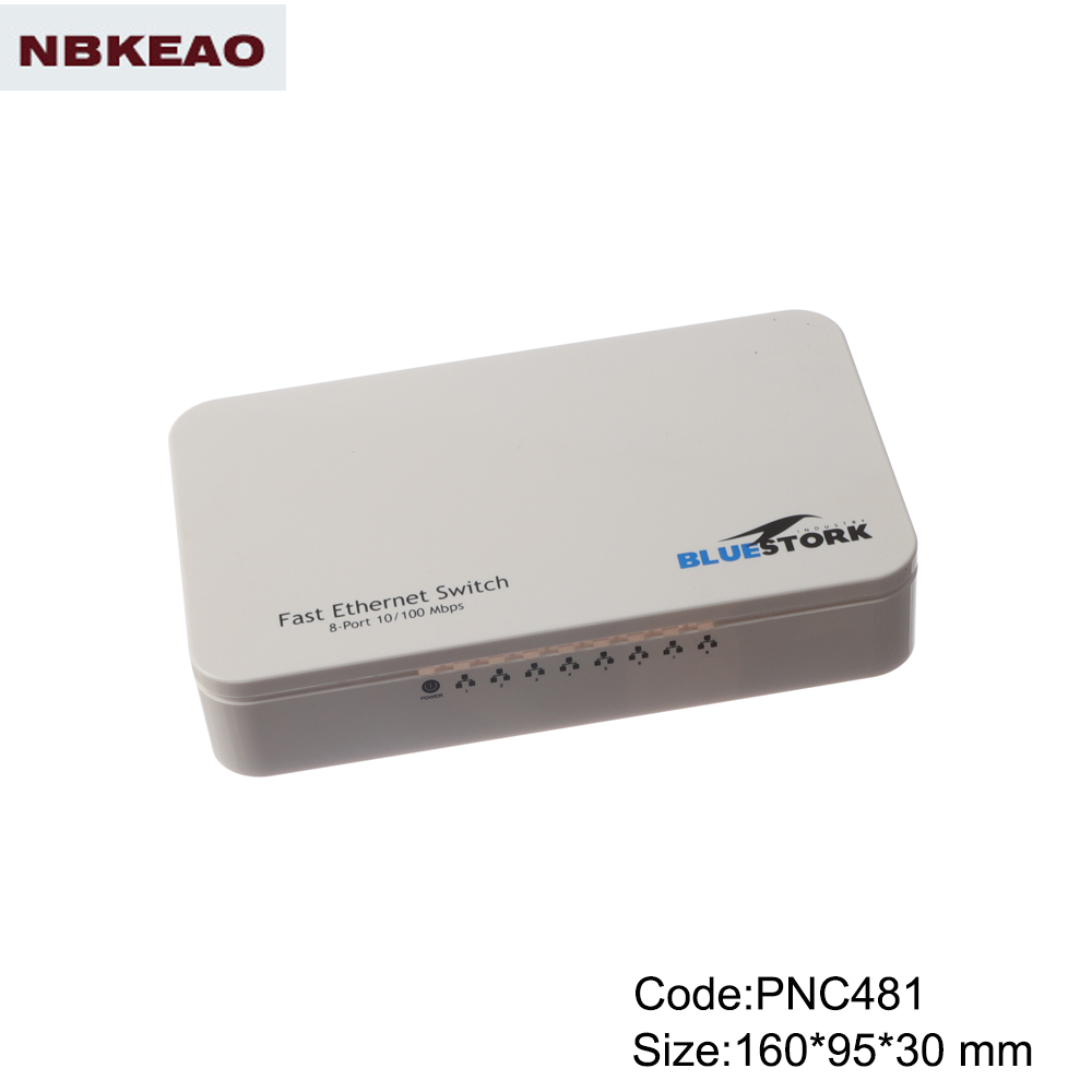 electronic plastic enclosures wifi modern networking abs plastic enclosure PNC481 with  160*95*30mm