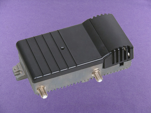 aluminum amplifier enclosure
