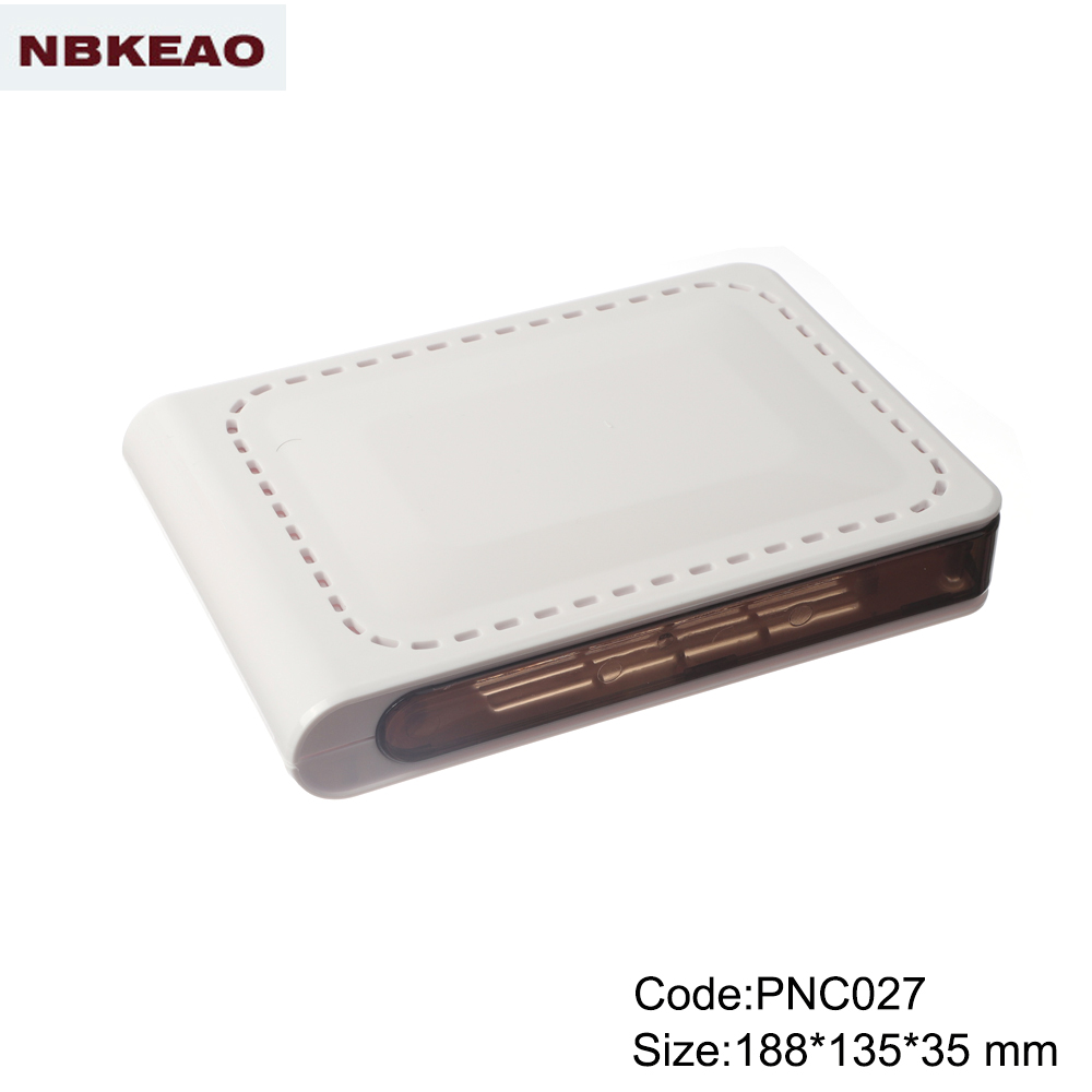 plastic enclosure for electronics Network Cabinet outdoor router enclosure PNC027 with  188*135*35mm