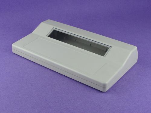 Plastic electronics abs desktop enclosure custom instrument case IP54 PDT555 wtih size 310*180*55mm