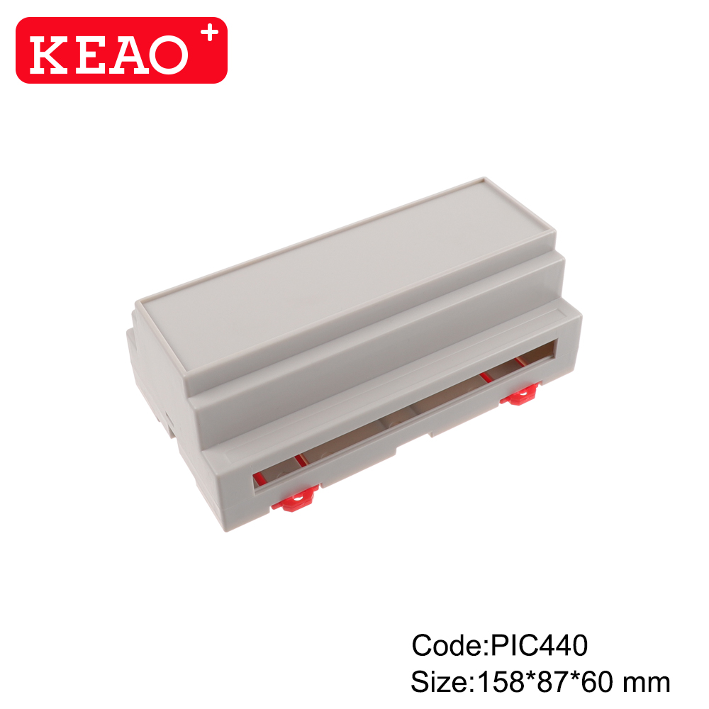 Control Panel Enclosures Shenzhen mould plastic enclosures with connector PIC440with size158*87*60mm