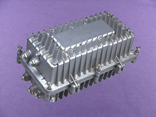 custom aluminum electronics enclosure aluminum waterproof enclosure outdoor amplifier box AOA490