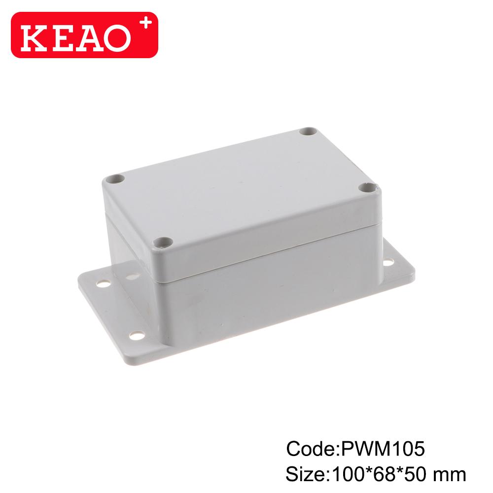 junction box with terminals ip65 plastic waterproof enclosure wall mount enclosure PWM105 100*68*50