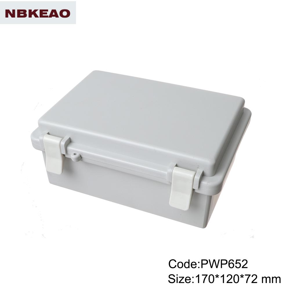 ip65 plastic waterproof enclosure outdoor abs enclosure waterproof electronics enclosure PWP652