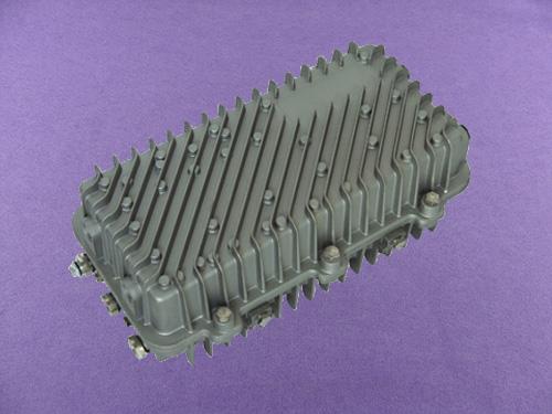 heavy duty aluminium top box cnc enclosure box waterproof aluminum enclosure AOA410 367X168X113mm