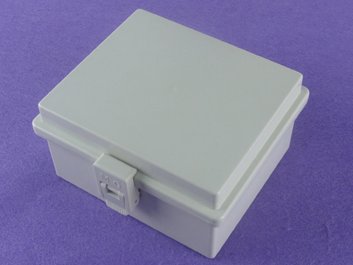 China Plastic Waterproof Enclosure Waterproof Plastic Latch+ Hinge Type Electrical Box