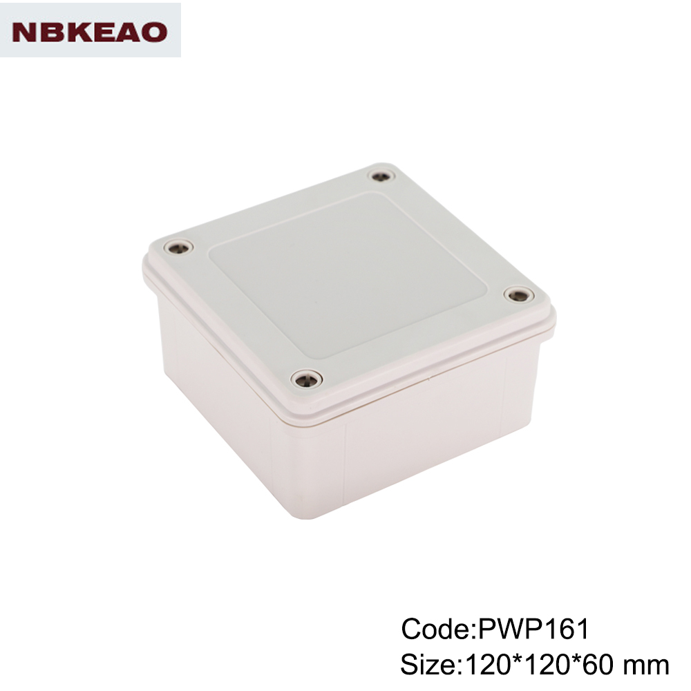 NEMA rated waterproof & dustproof ABS Electronic Enclosure,Water Resistant case PWP161 120*120*60mm