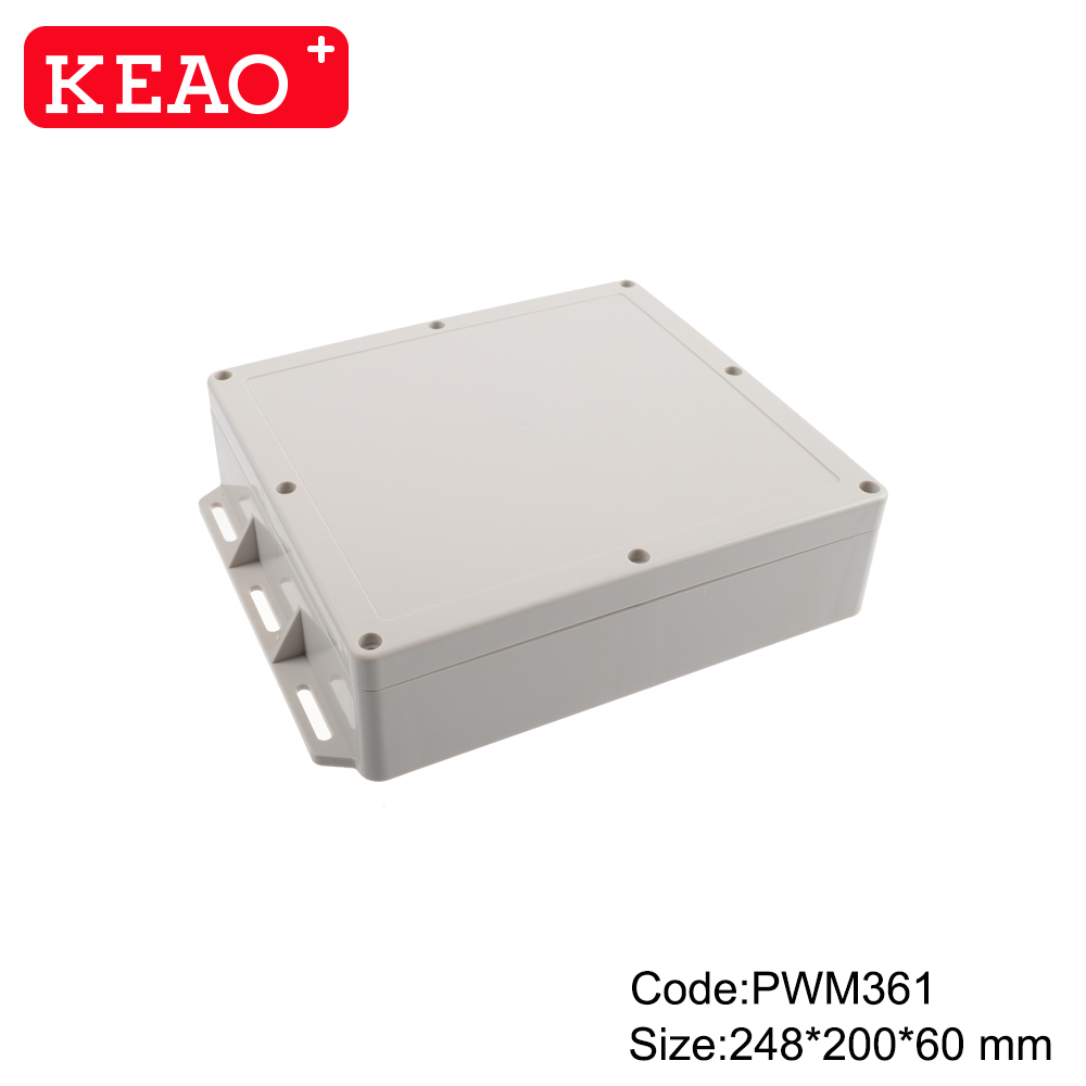 plastic enclosure for electronics waterproof plastic enclosure outdoor electronics enclosure PWM361