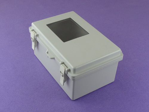 waterproof electronics enclosure  plastic box electronic enclosure outdoor enclosure PWP657