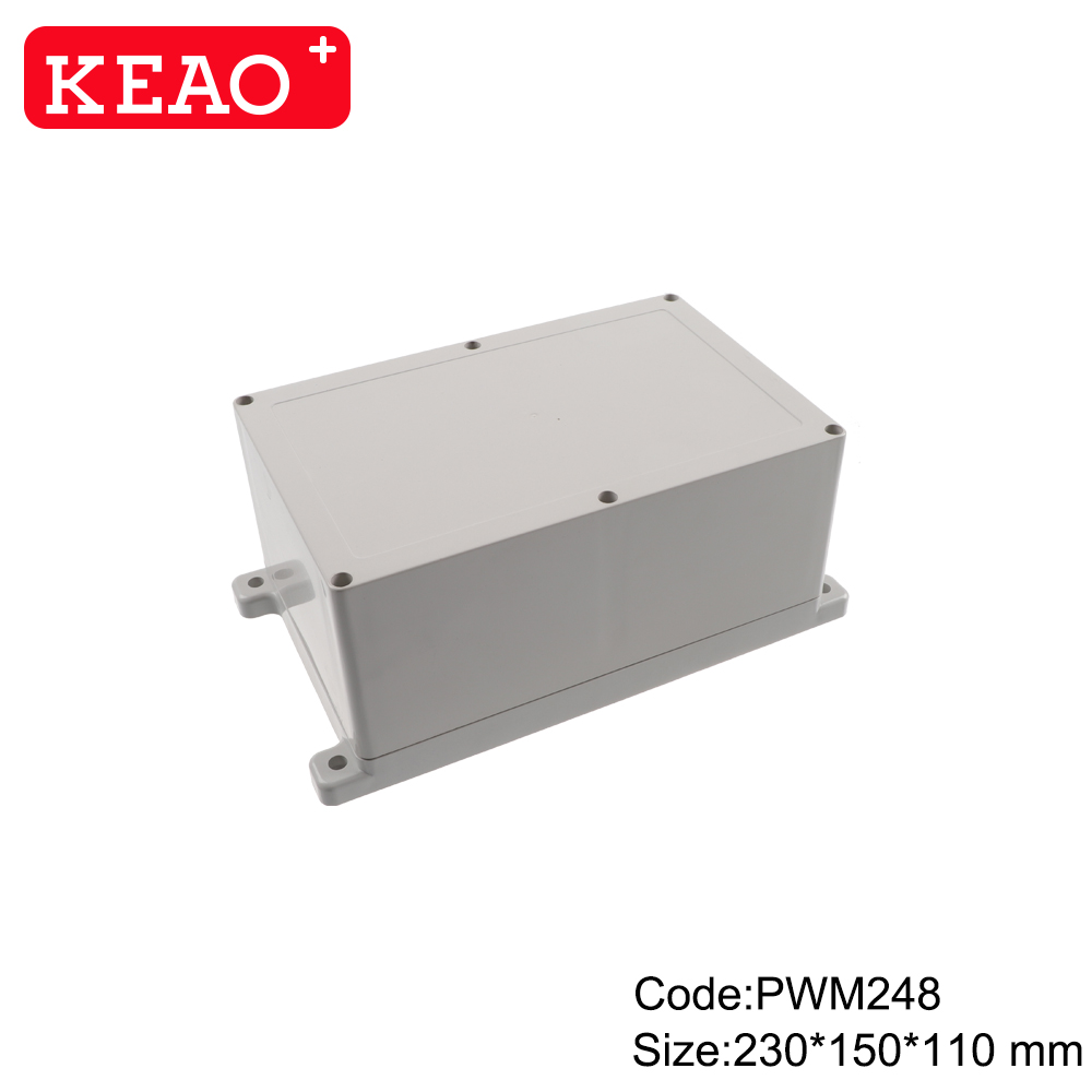 electronic plastic enclosures wall mounting enclosure box waterproof box PWM248 with 230*150*110mm