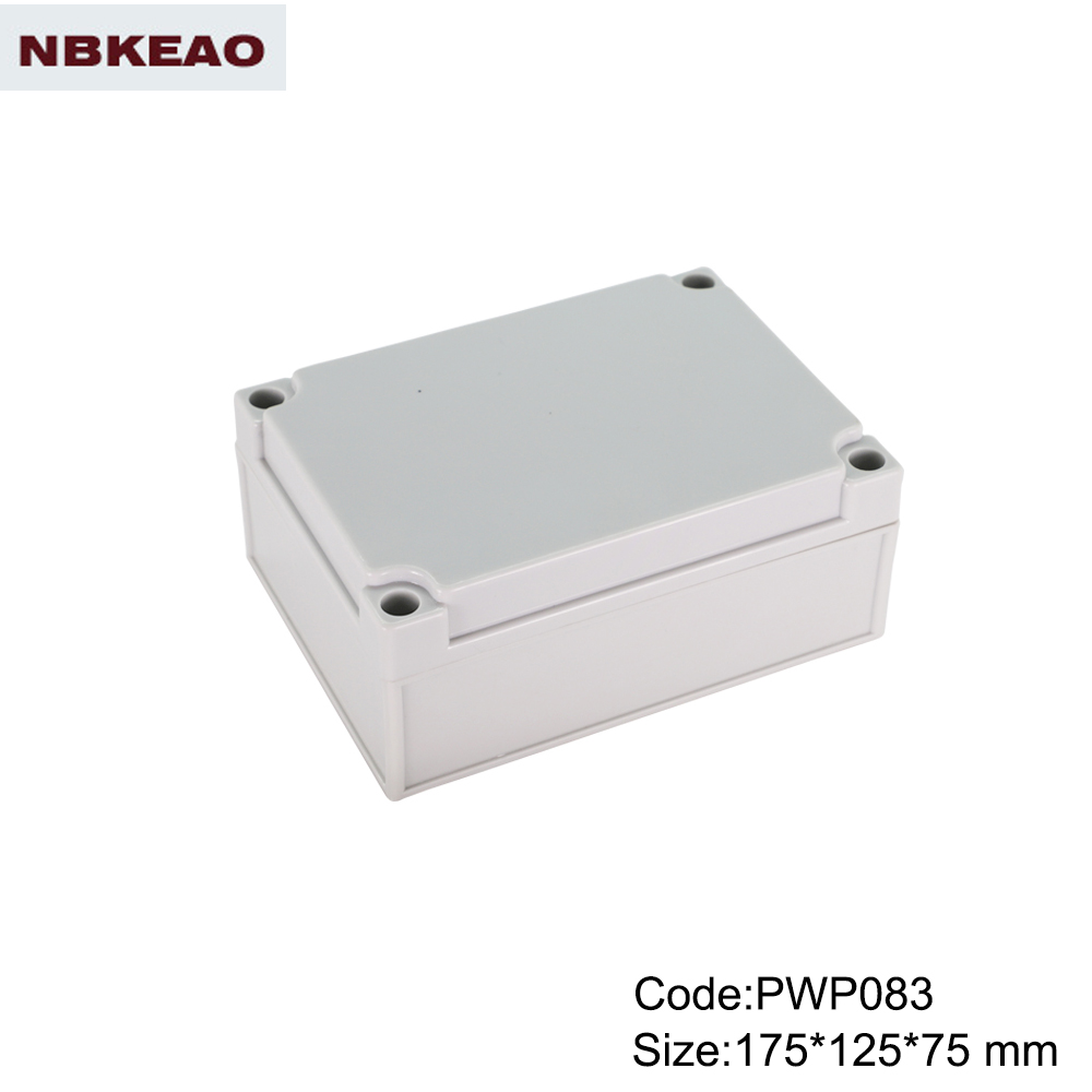 abs box plastic enclosure electronics waterproof electrical box PWP083 with size 15*125*75mm