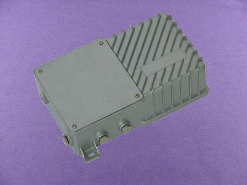 custom aluminum electronics enclosure China outdoor amplifier enclosure AOA360 with size 176X96X51mm