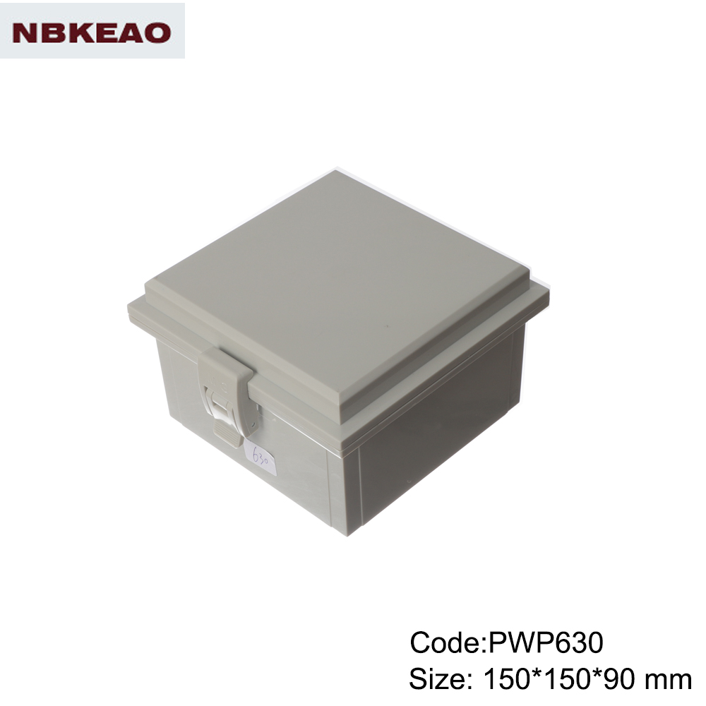 waterproof electronics enclosure plastic box electronic enclosure electric box PWP630 with150*150*90