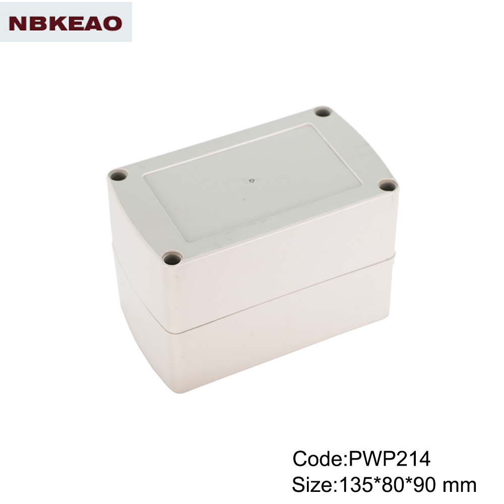 Low cost China IP65 Plastic Waterproof Enclosure PWP214 outdoor enclosure waterproof waterproof