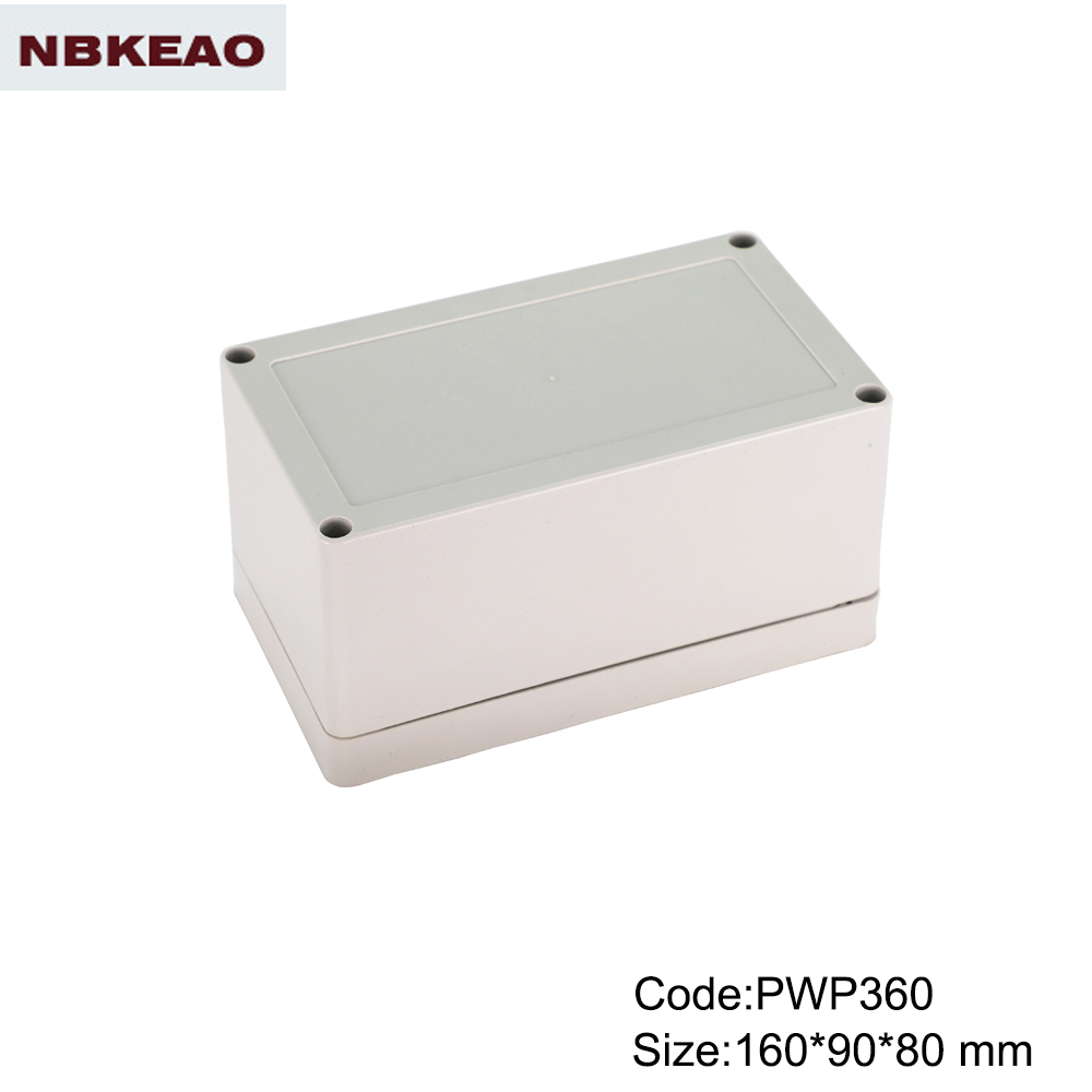 waterproof enclosure box for electronic outdoor telecom enclosure PWP360 with size 160*90*80mm