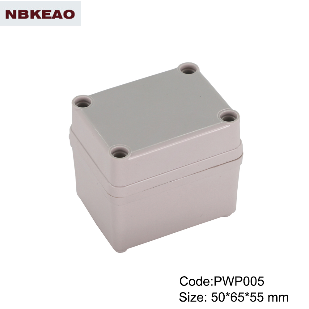 outdoor electronics enclosure electronic enclosure unique waterproof enclosure PWP005 with50*65*55mm