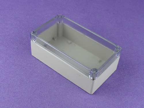 custom plastic enclosure outdoor enclosure waterproof junction boxes PWP111T with size 158*89*60mm